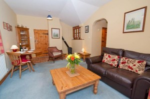 Open plan dining and relaxing area - with free wi-fi and Freeview TV