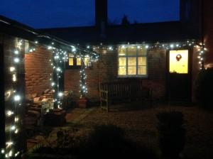 The Gig House at Christmas